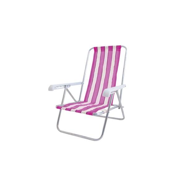 Cadeira De Praia Reclinável 4 Posições  - 25000