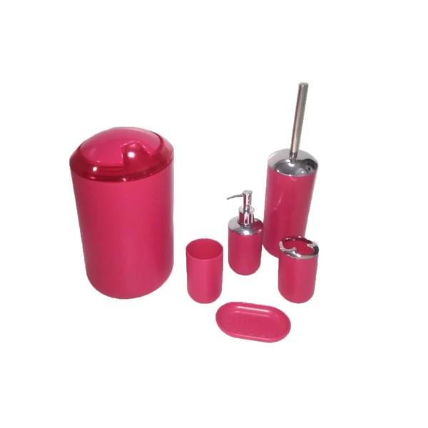 Kit para Banheiro rosa - Ref. 1533
