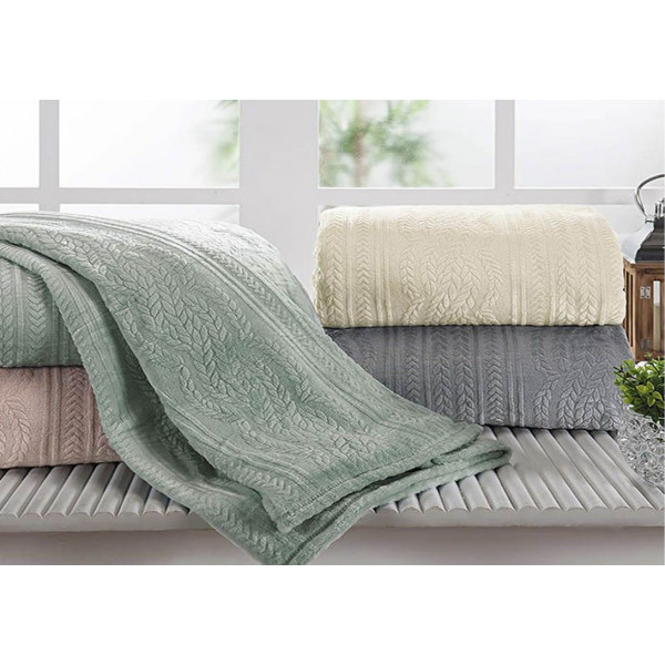 Cobertor Casal Chamonix Flannel Andreza - Ref. COCC777