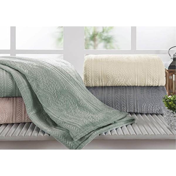 Cobertor Queen Chamonix Flannel Andreza - Ref. COQC776