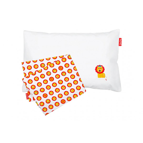 Jogo de Lençol para Carrinho Fisher Price Colors Leão - Ref. 10005