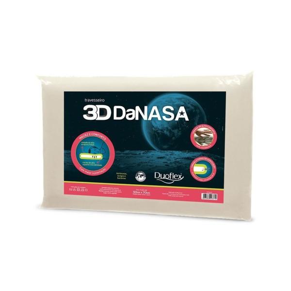 Travesseiro 3D da DaNasa Duoflex - Ref. DT3240