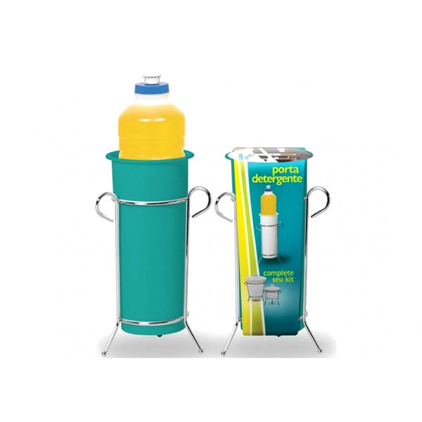Porta Detergente Azul Turquesa - Ref. 312-6