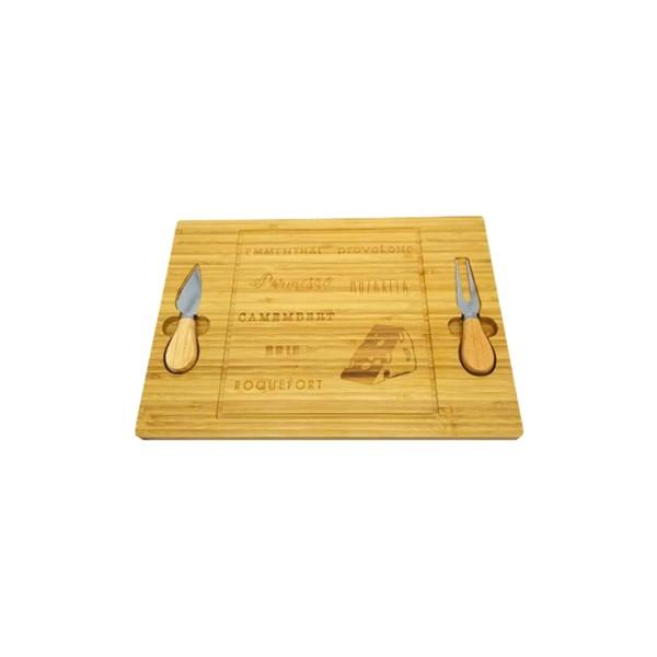 Tábua para Queijos de Bambu - Ref. 96561