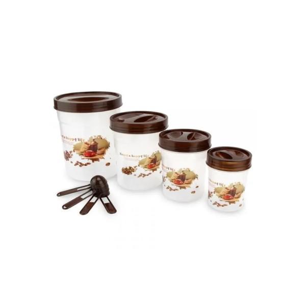 Kit de Potes com colher Medidora - Ref. CO8425887