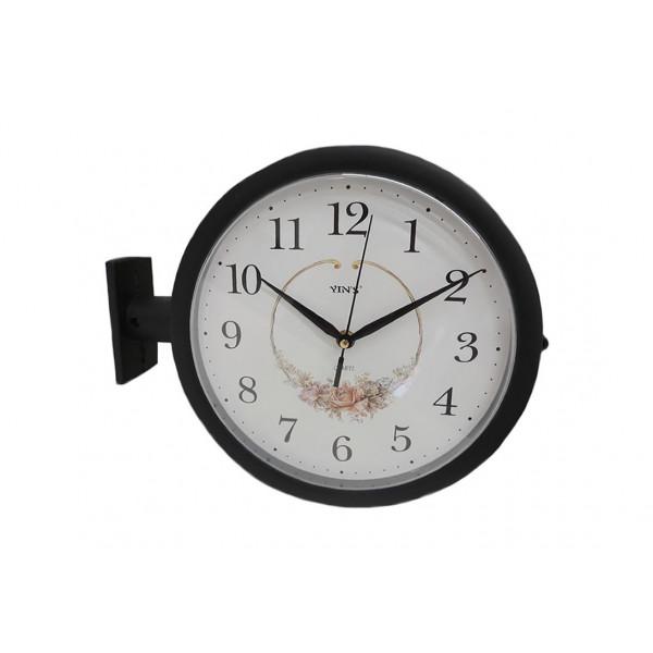 Relógio de Parede Dupla Face Estação - Ref. GD9836
