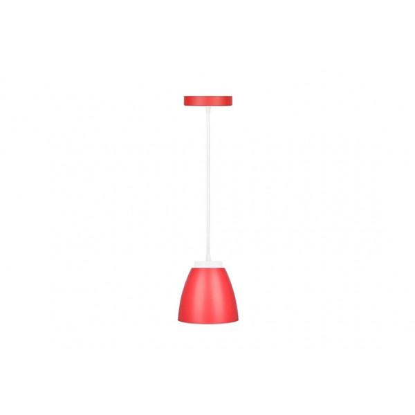 Pendente Led vermelho Biv Kian - Ref. 14925