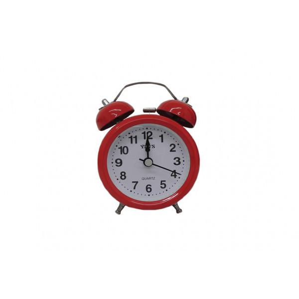 Relógio de Mesa com Despertador Redondo sortido - Ref. SD8819