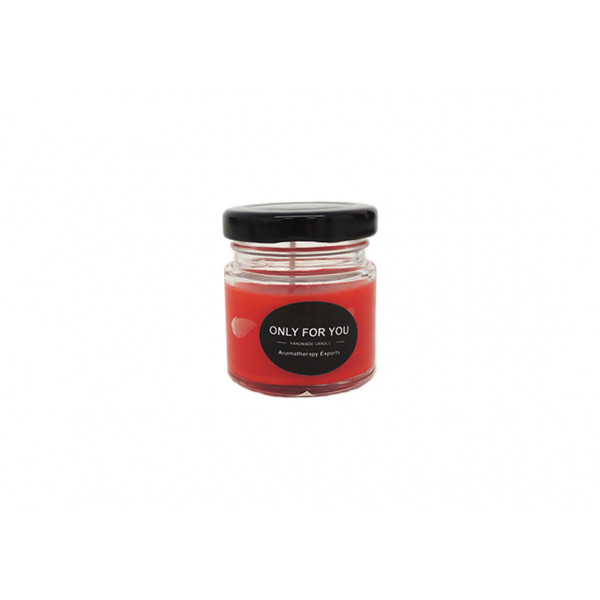 Vela Decorativa Aromatizada Vermelha - Ref. TRC8110