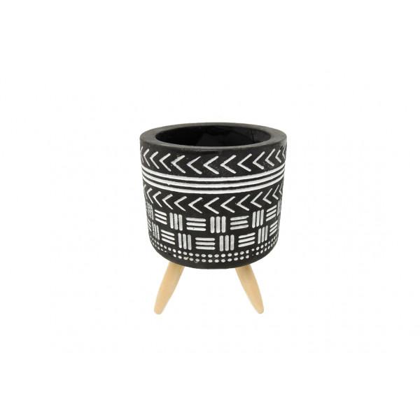 Vaso Decorativo com Tripé Sortido - Ref. IM51070