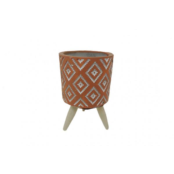 Vaso Decorativo com Tripé Sortido -  Ref. IM51067