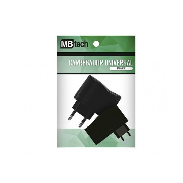 Carregador de Tomada 1,0 A com 1 Entrada Usb - Ref. MB52013