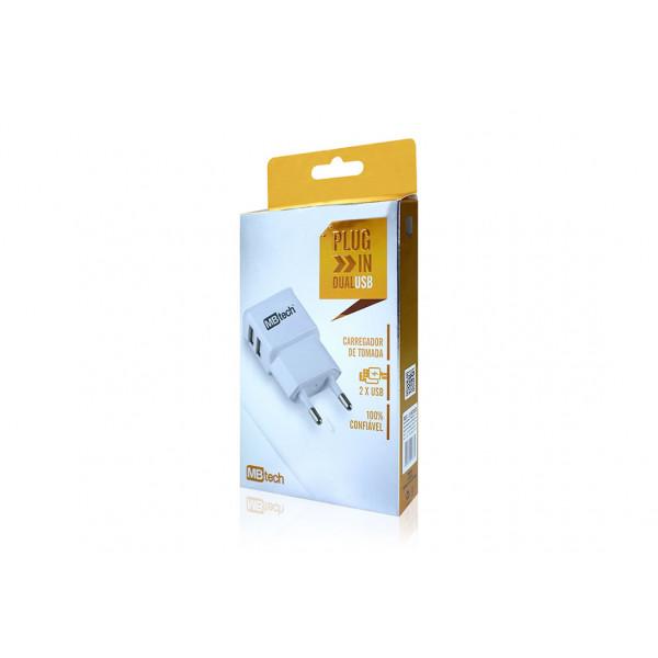 Carregador de Tomada entrada USB Ref. MB52033