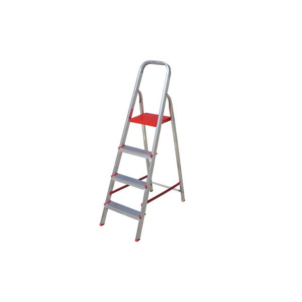 Escada em Alumínio com 4 Degraus - Ref. 063