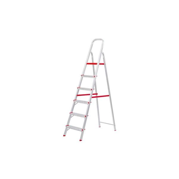 Escada em Alumínio com 6 Degraus - Ref. 065