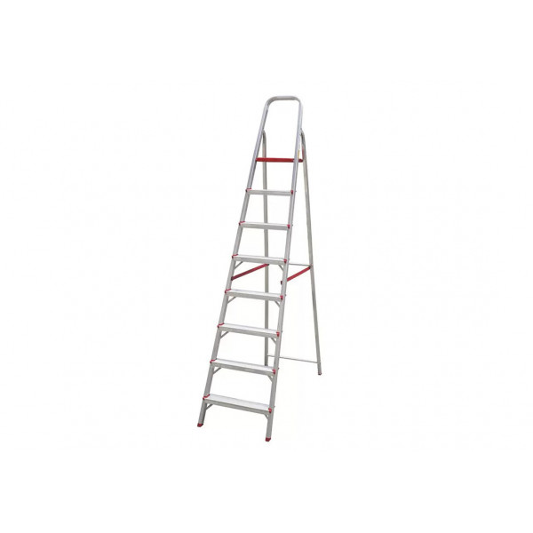 Escada em Alumínio com 8 Degraus - Ref. 067