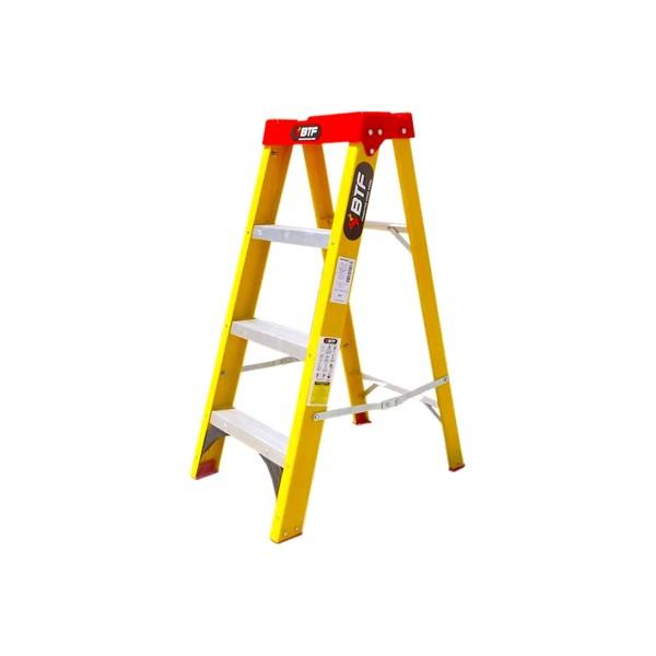 Escada Fibra Tesoura Prática 3 Degraus - Ref. EFP5907