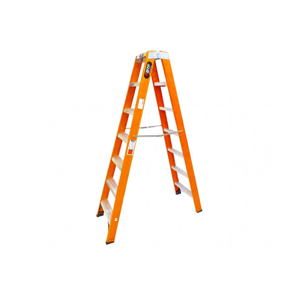 Escada Fibra Tesoura Pro Robusta 7 Degraus - Ref. 9921