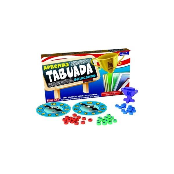 Aprenda a Tabuada Brincando - Ref. 303556