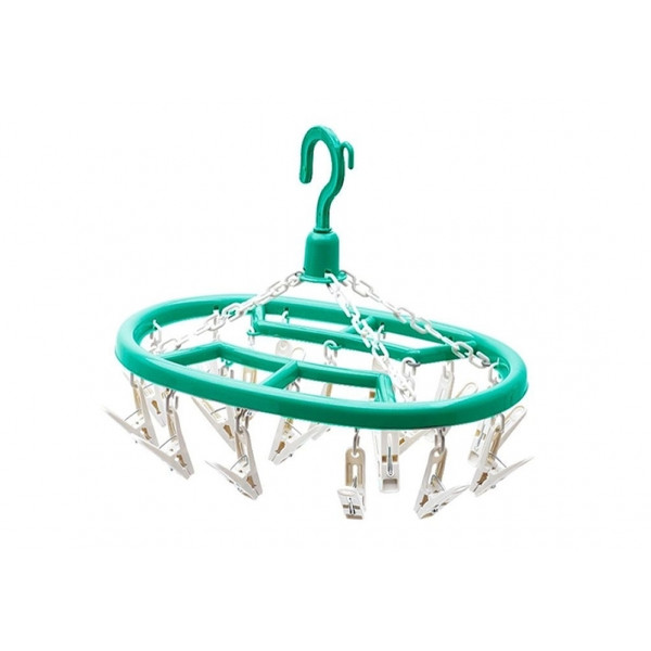 Mini Varal Oval - Com 18 Prendedores - Ref. 411030