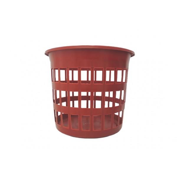 Cesto de Lixo Telado Vermelho - Ref. 209