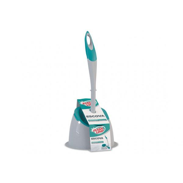 Escova Sanitária Emborrachada Com Suporte - Ref. BAN6101