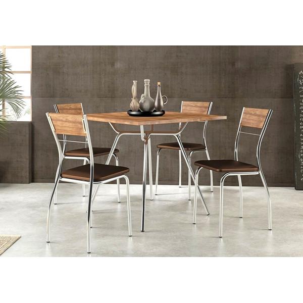 Conjunto Mesa de Jantar com 4 cadeiras - Ref. 155721105