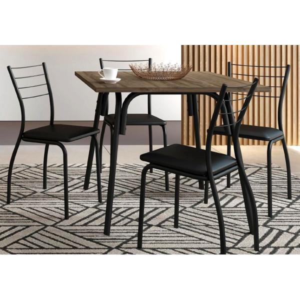 Conjunto Mesa de Jantar com 4 cadeiras - Ref. 056513200