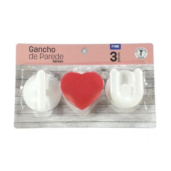 Gancho de parede adesivo - Ref. 95285