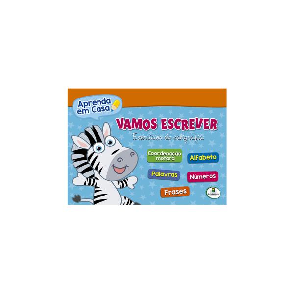 APRENDA EM CASA - VAMOS ESCREVER REF: 1143891