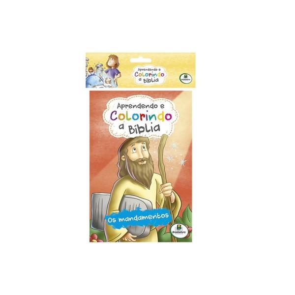 Aprendendo e Colorindo a Bíblia (Eco) Kit com 10 - Ref 1113283