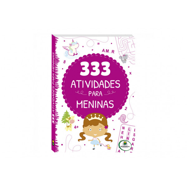 333 ATIVIDADES PARA MENINAS - REF. 1150928
