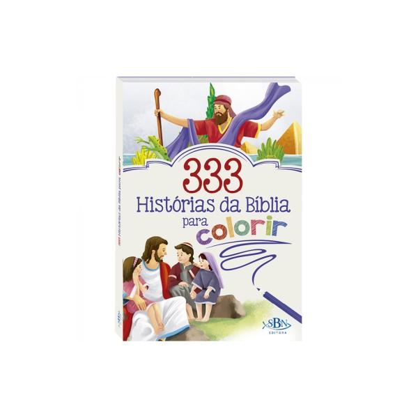 333 HISTÓRIAS DA BÍBLIA PARA COLORIR - REF. 1150910