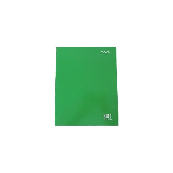 Caderno Universitário Costurado Verde - Ref. 90058