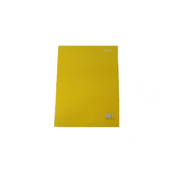 Caderno Universitário Costurado Amarelo - Ref. 90057