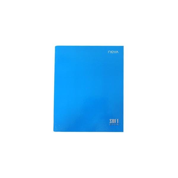 Caderno Universitário Costurado Azul - Ref. 90056